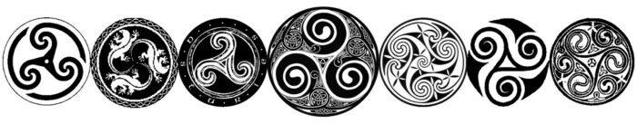 El Triskel, el Símbolo Solar Celta