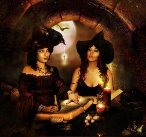 Brujas y «Familiares»: Ranas y  Sapos.