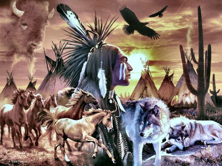 indios americanos,alma