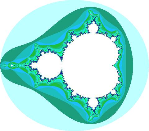 El conjunto de Mandelbrot es el más estudiado de los fractales.
