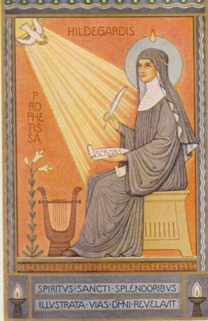 Santa Hildegarda de Bingen, laSibila del Rin