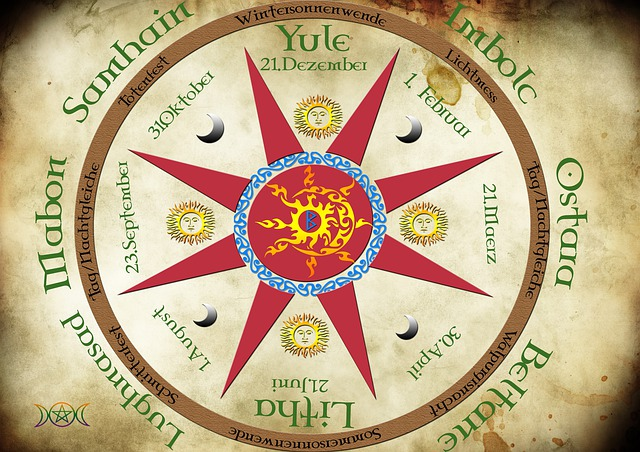 La Rueda Pagana. Las Festividades Religiosas Celtas.