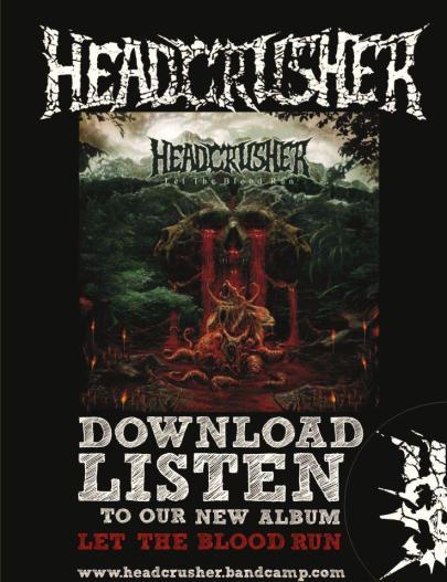 HeadCrusher cuelga su nuevo album Let the Blood Run