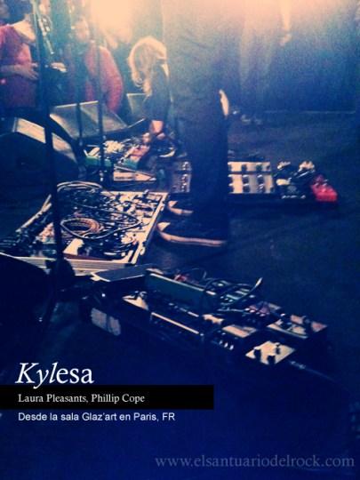 Reseña concierto Kylesa, Circle takes the square, Ken Mode en Glazart de Paris 2012