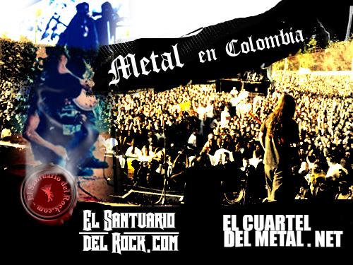 Invitacion bandas Colombianas de Rock y Metal