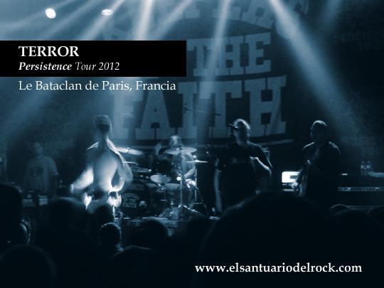 terror Persistence Tour 2012