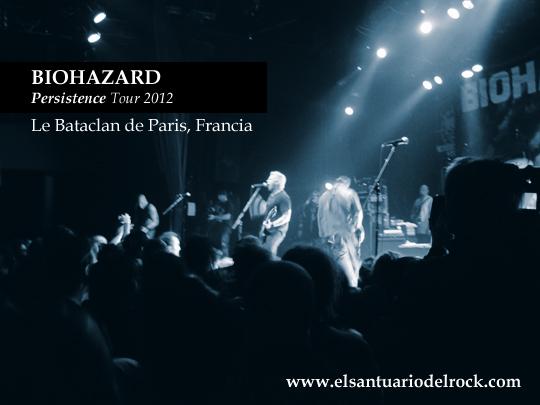 biohazard Persistence Tour 2012