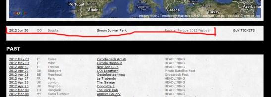 Confirmado The Dillinger Escape Plan en Rock al Parque 2012!