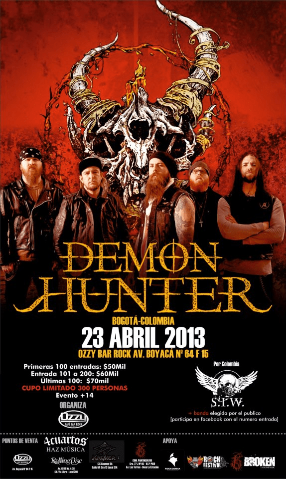 demon hunter bogota