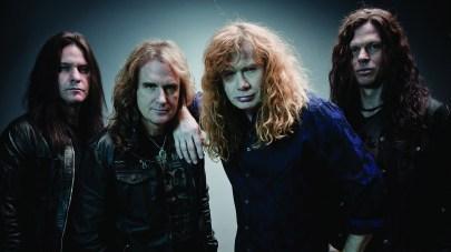 Megadeth banda 2012
