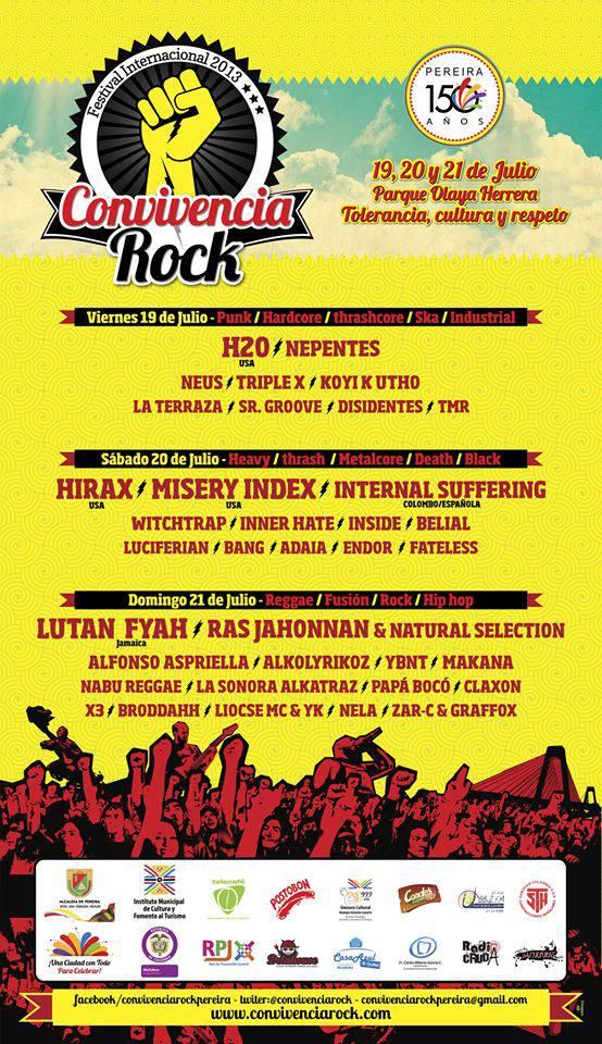 Convivencia Rock Pereira 2013