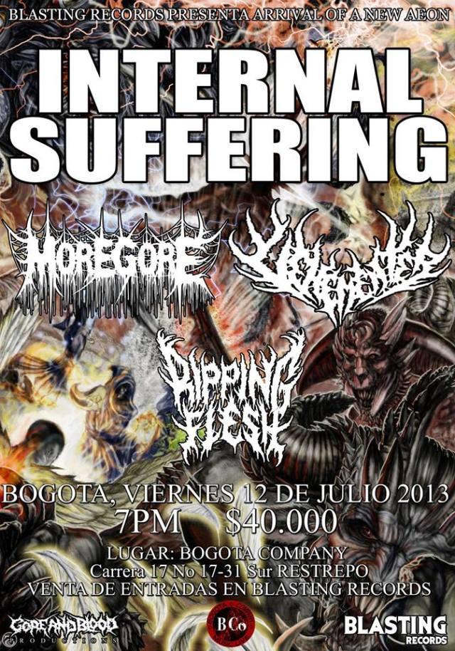 internal suffering bogota 2013