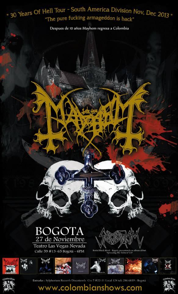 mayhem colombia 2013
