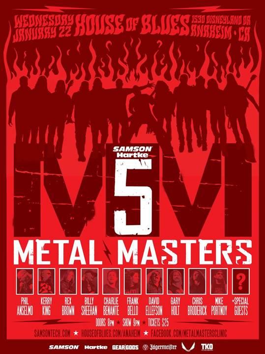 metal masters 5 2014