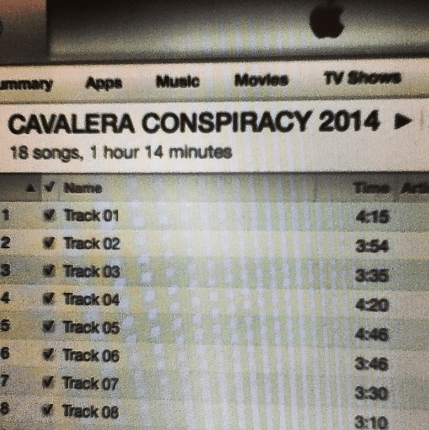 cavalera conspiracy estudio 2014 songs