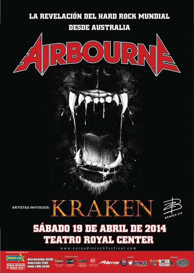 airbourne colombia 2014