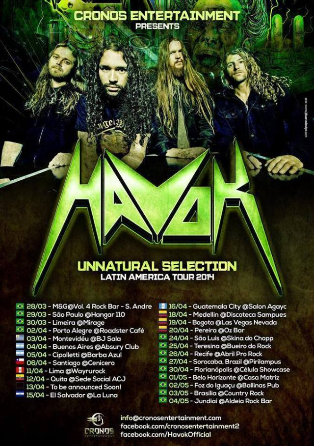 havok latinoamerica 2013