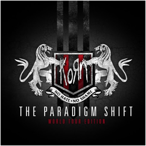 korn The Paradigm Shift world tour edition