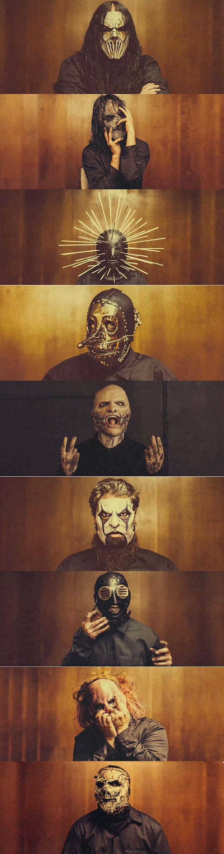 slipknot masks 2014