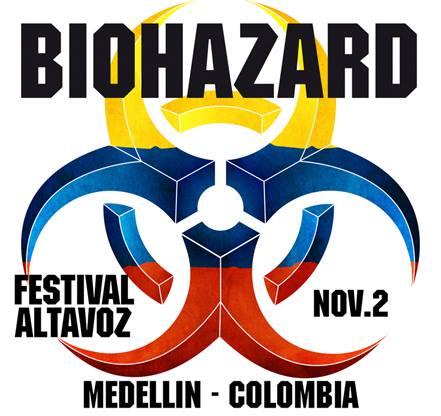 biohazard altavoz 2014