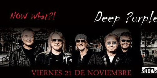 deep purple en Colombia