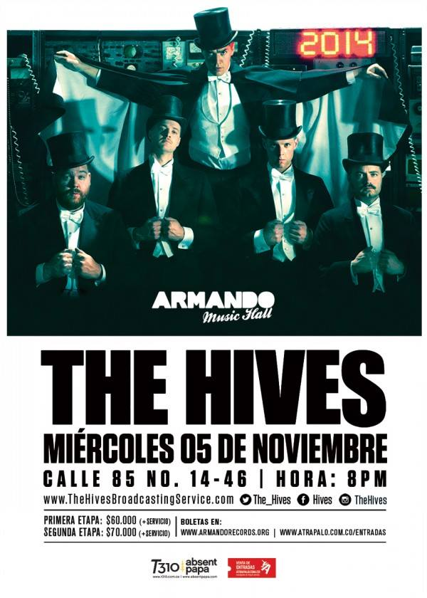 the hives colombia 2014