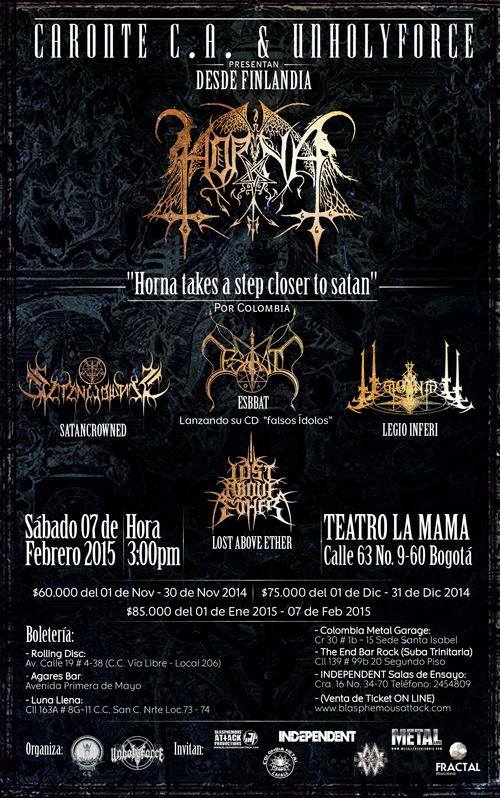 horna colombia 2015