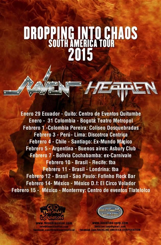 raven heathen sudamerica 2015