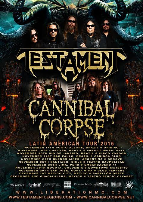 testament cannibal corpse colombia 2015