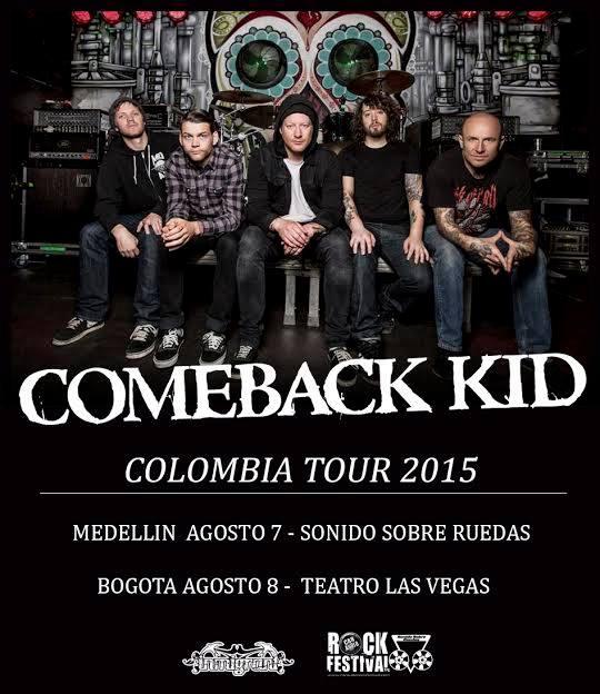 comeback kid colombia 2015