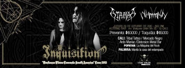 inquisition cali 2015