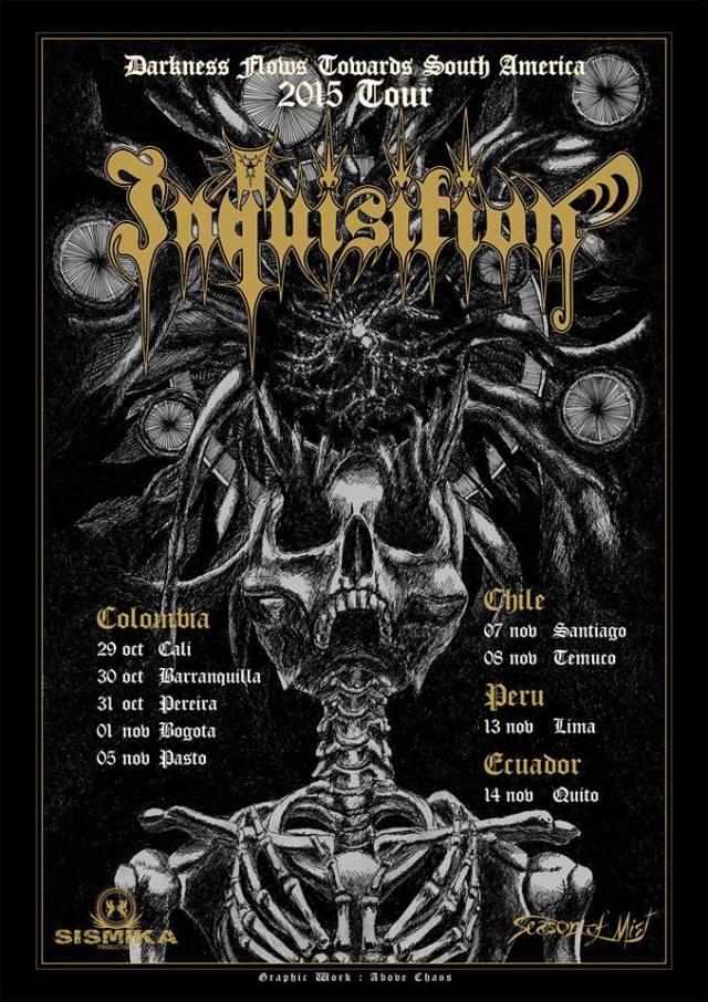 inquisition suramerica 2015