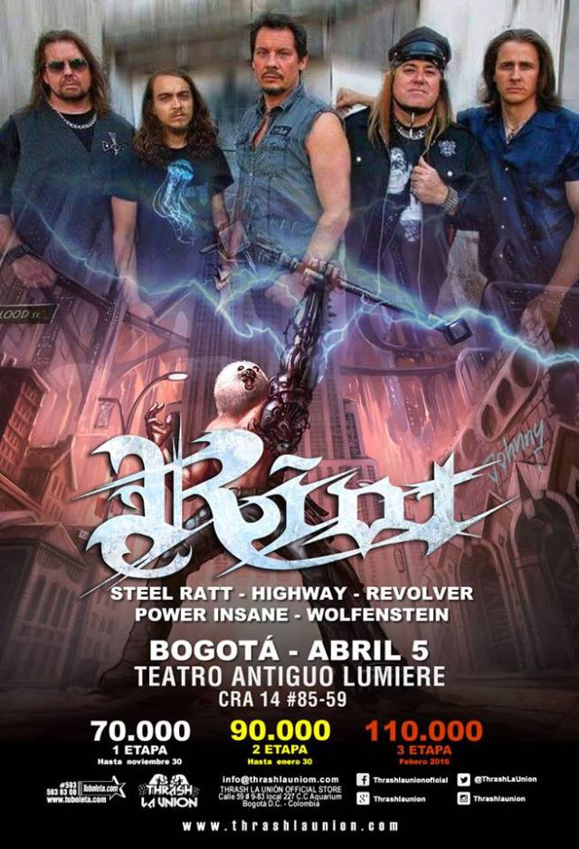 riot colombia 2016