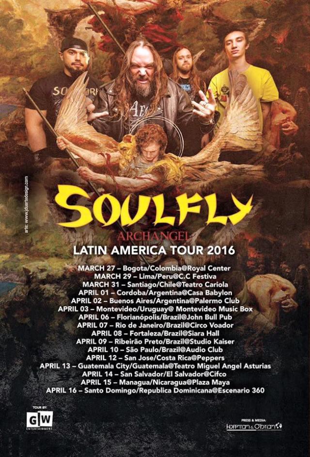 soulfly latinoamerica 2016