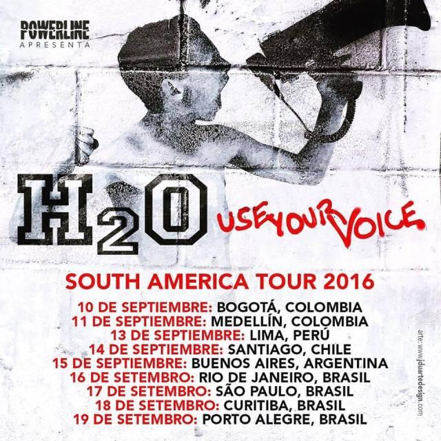 h2o suramerica 2016