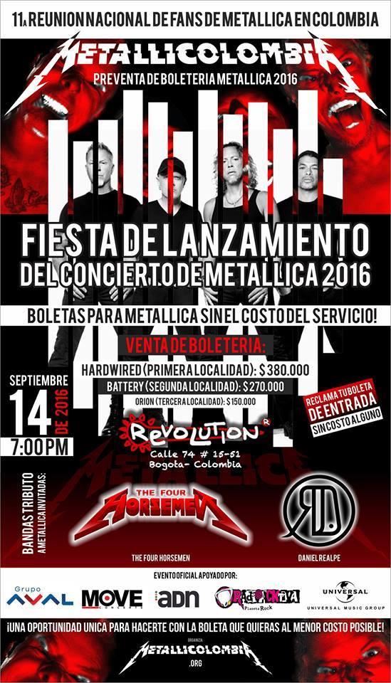 fiesta-lanzamiento-concierto-metallica-colombia-2016