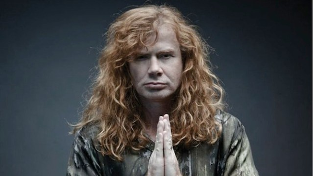 Dave Mustaine diagnosticado con cancer de garganta