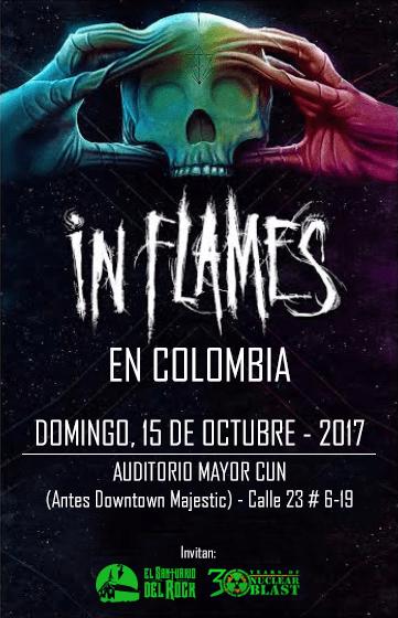 Resultado de imagen para in flames en colombia