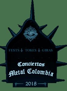 Próximos Conciertos de Rock, Metal en Colombia 2018