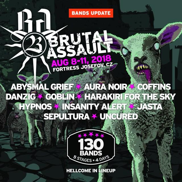 Reseña Festival Brutal Assault 2018