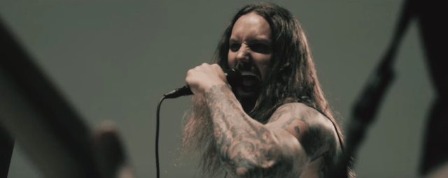 As I Lay Dying junto a No Turning Back en Colombia 2019