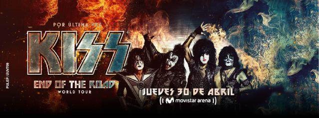 Kiss de regreso en Colombia 2020
