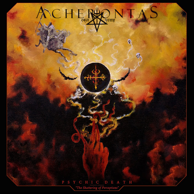 "ACHERONTAS segundo adelanto para ""Psychic Death – The Shattering of Perceptions"""