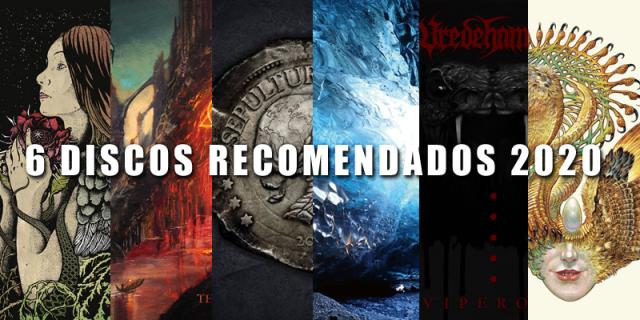 Una lista de 6 discos de Rock, Metal recomendados para escuchar este 2020