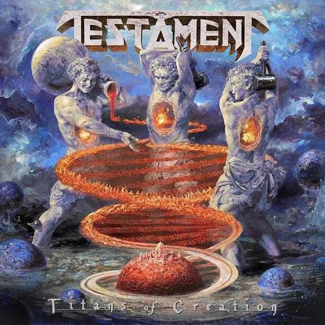 Reseña Disco Titans Of Creation de Testament