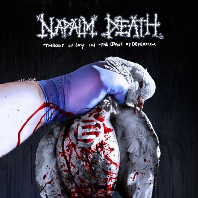 NAPALM DEATH todos los detalles de su nuevo disco, primer adelanto en linea