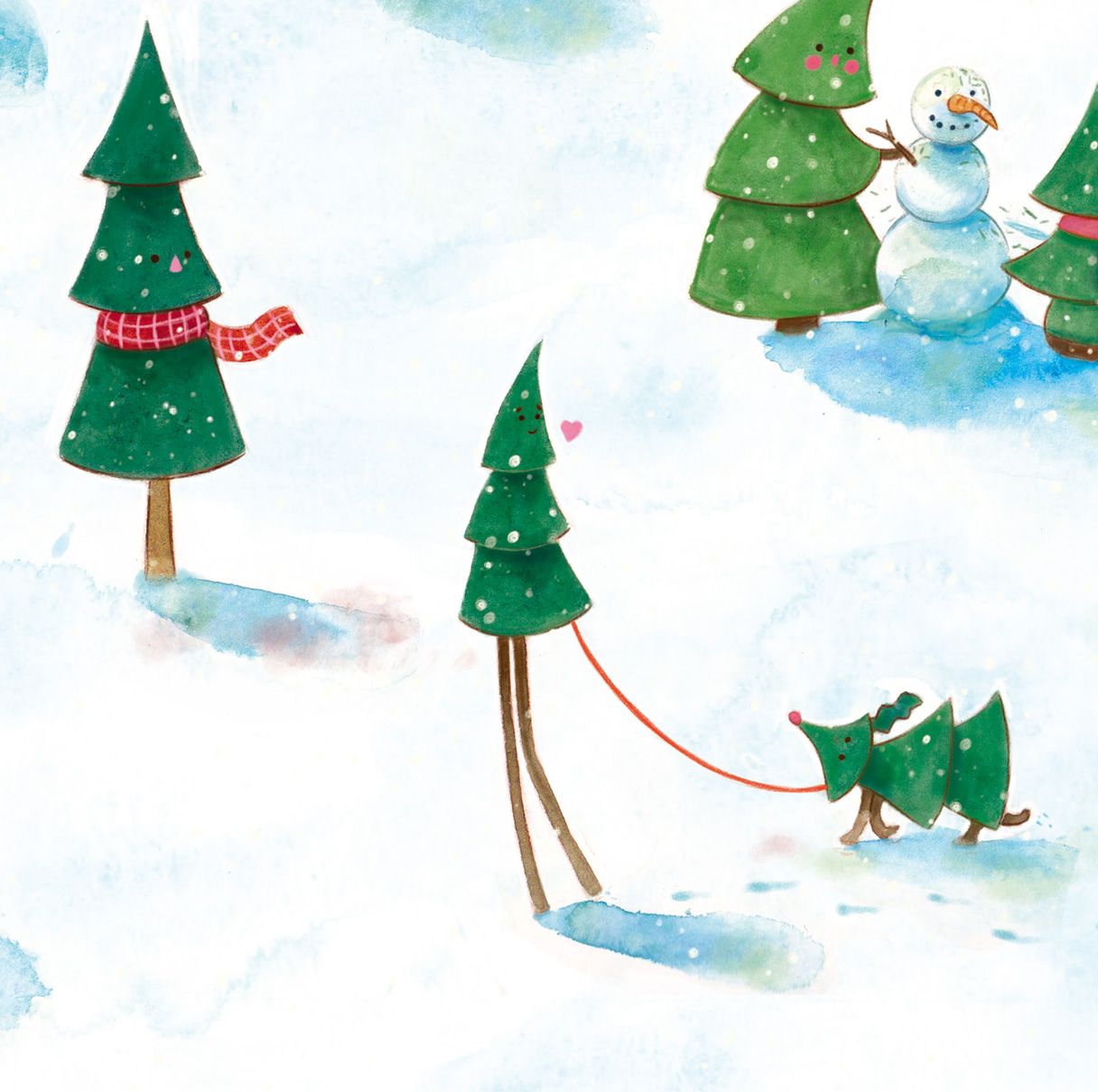 Christmascarddesign_illustration_elsdecaluwe