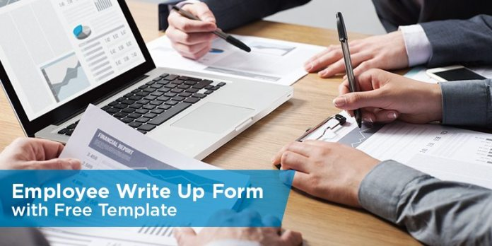 Employee Write up Form