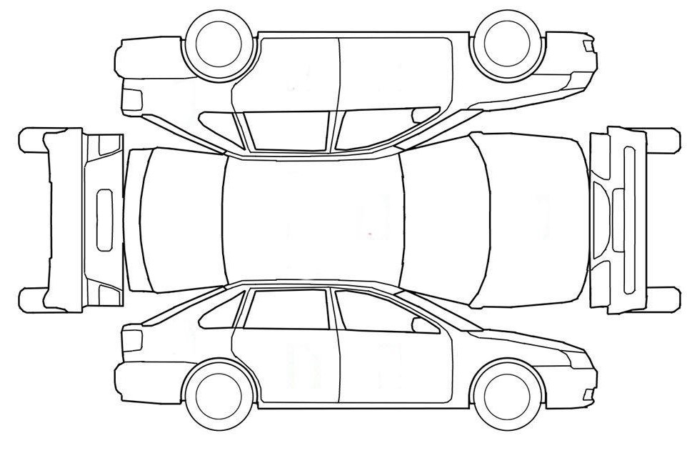 car damage inspection diagram 2002 mitsubishi lancer radio stereo audio wiring van vehicle next stanito com free printable form download pick up diagrams pdf