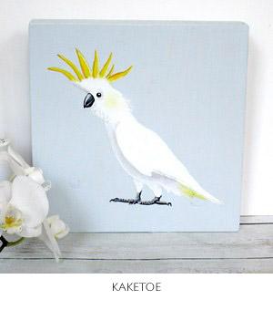 kaketoe schilderij